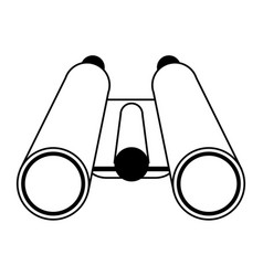 Binoculars travel icon image vector