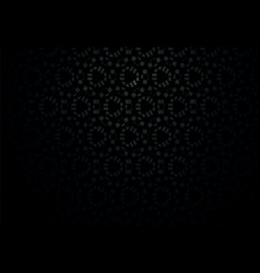 black gradient background with abstract geometric vector image