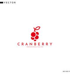 Cranberry logo vector