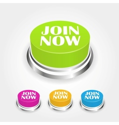 Join now button vector