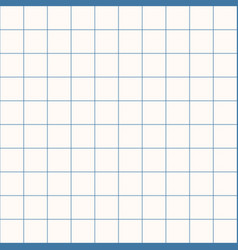 Millimeter grid square graph paper background vector