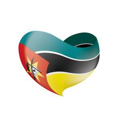 Mozambique flag vector