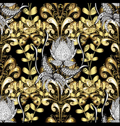Oriental style arabesques openwork delicate vector