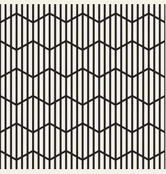 seamless stripes pattern modern stylish vector image