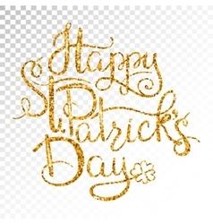 St patricks day greetings vector