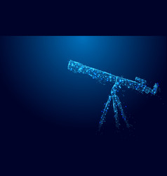 Telescope from lines and triangles point vector