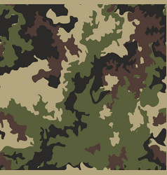 Texture military camo repeats army green hunting vector