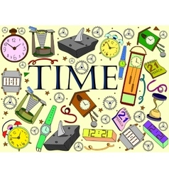 Time vector image