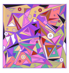 Abstract modern triangles background pattern vector