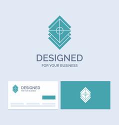Arrange design layers stack layer business logo vector