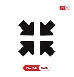 minimize button icon vector image