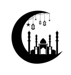 Moon ramadhan vector