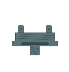 Flat icon of electronic cigarettes component vector image vector image