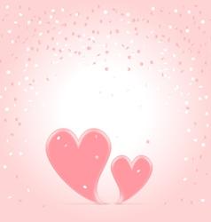 Love speaking vector image vector image