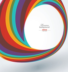 Abstract technology rainbow background vector