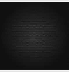 Black honeycomb background vector