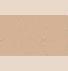 kraft texture kraft paper beige empty background vector image