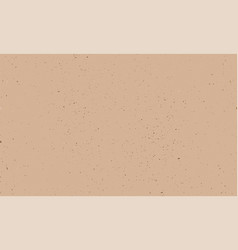 Kraft texture kraft paper beige empty background vector