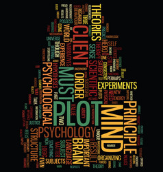 Metaphors of the mind part ii text background vector
