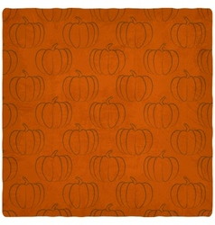 Old background with pumpkins seamless pattern vector