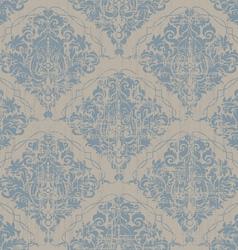 seamless vintage wallpaper vector image vector image