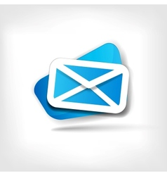 Web letter icon vector image