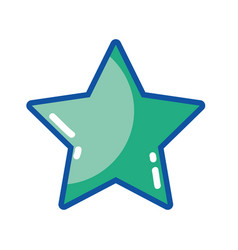 rating star symbol and element status vector image vector image
