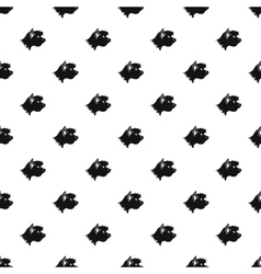 Great dane dog pattern simple style vector image vector image