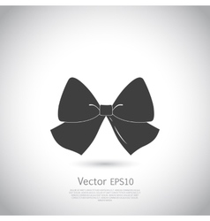 Bow icon eps10 vector image