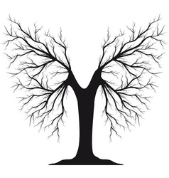 tree logo vector image vector image