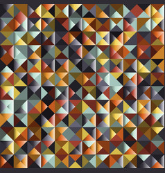abstract triangle pattern background advertising vector image