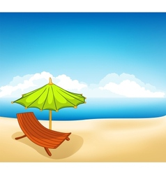 cartoons vocation lounger vector image