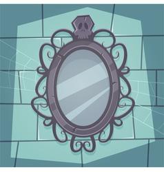 Creepy Mirror vector