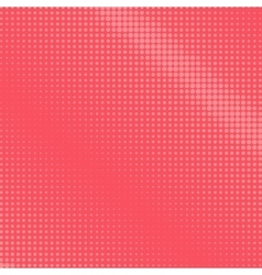 Dots on a Pink Background Pop Art Background vector image