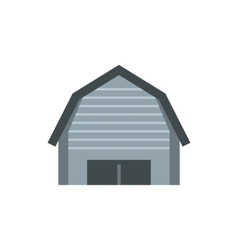 High garage icon flat style vector image
