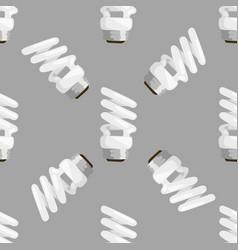 Saving bulbs seamless pattern vector