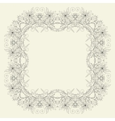 decorative design element vector image vector image