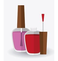 make up design vector image vector image