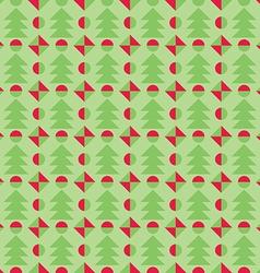 Retro christmas pattern winter wallpaper vector
