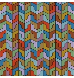 Abstract Ethnic Seamless Geometric Pattern vector image vector image