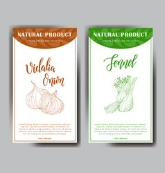 colorful sketch vegetable healthy food poster vector image