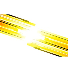 Background with yellow lines vector image