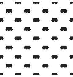 egg box pattern seamless vector image