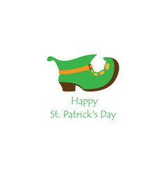 patricks days color symbol vector image