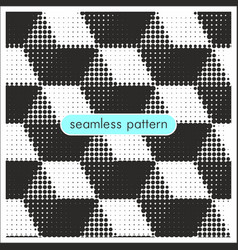 Seamless patterns with halftone dots 20 vector