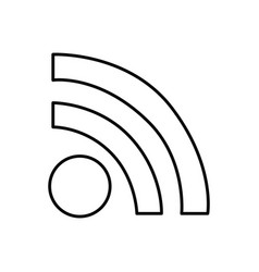 Wifi connection router icon vector