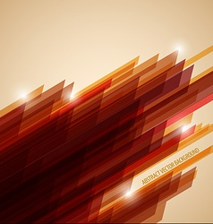 Abstract retro background made from stripes vector image vector image