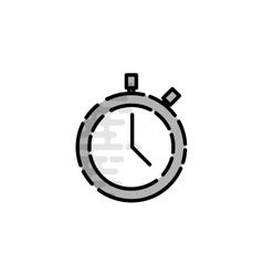 American football flat icon vector image vector image