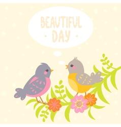 birds flat vector image vector image