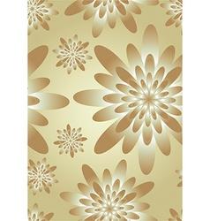 Elegant floral silk background vector image